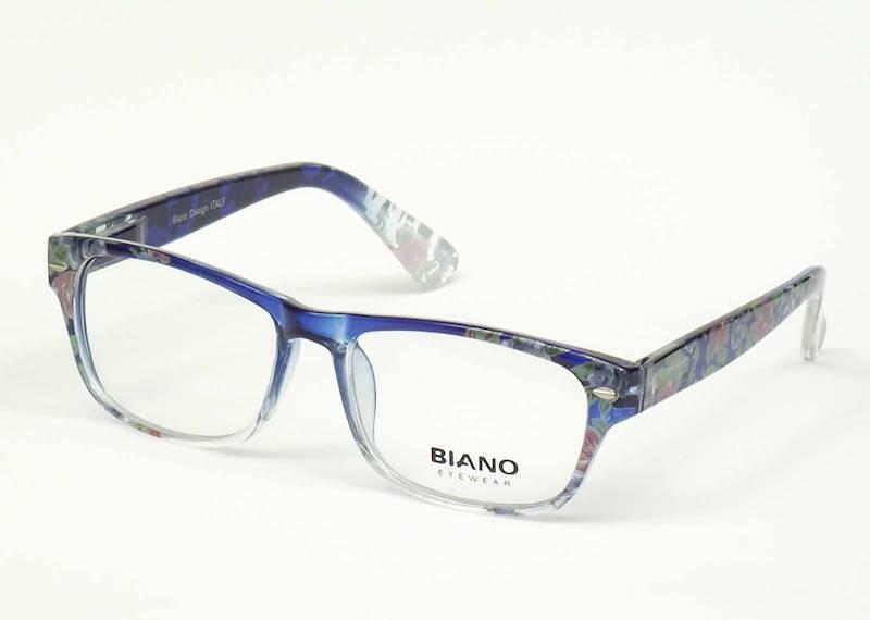 Oprawa okularowa BN1104 C03 Biano - niebieski+kwia
