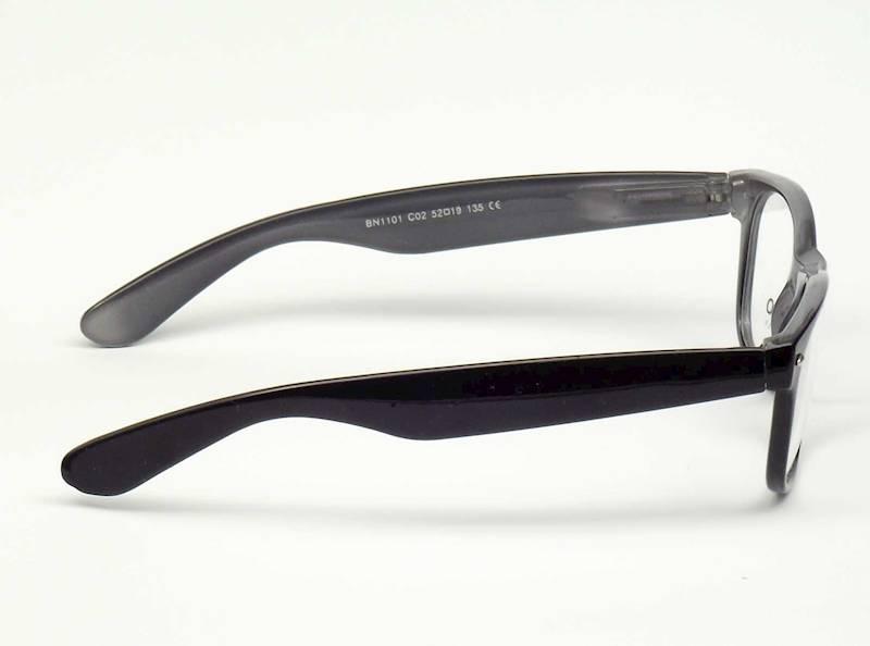 Oprawa okularowa BN1101 C02 Biano - czarny/siwy