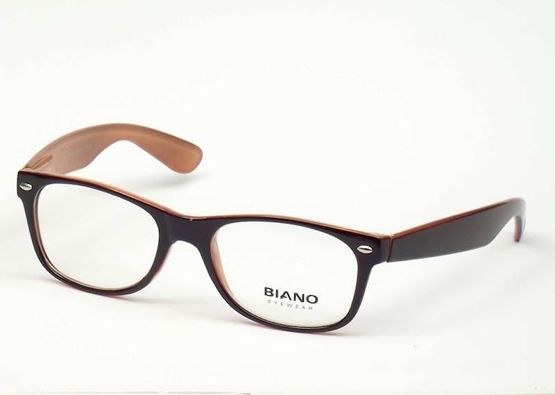Oprawa okularowa BN1101 C01 Biano - czarny/łosoś