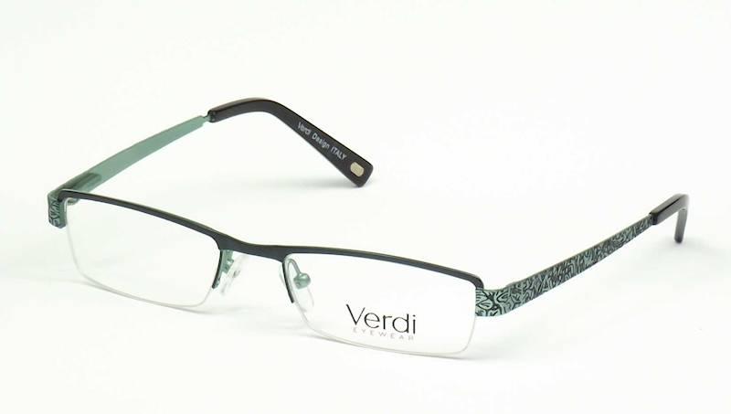 Oprawa okularowa VD1126 C05 Verdi - zielony/czarny