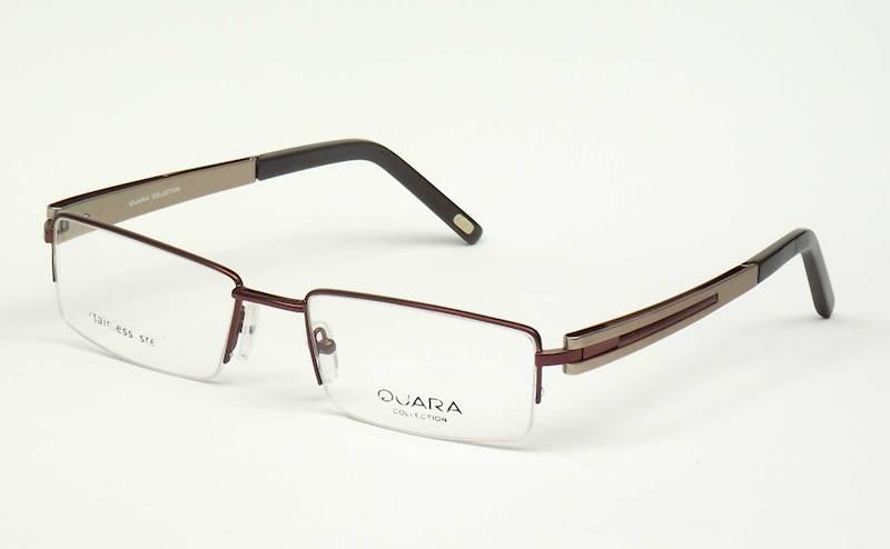 Oprawa okularowa QR1006 C03 Quara -brąz