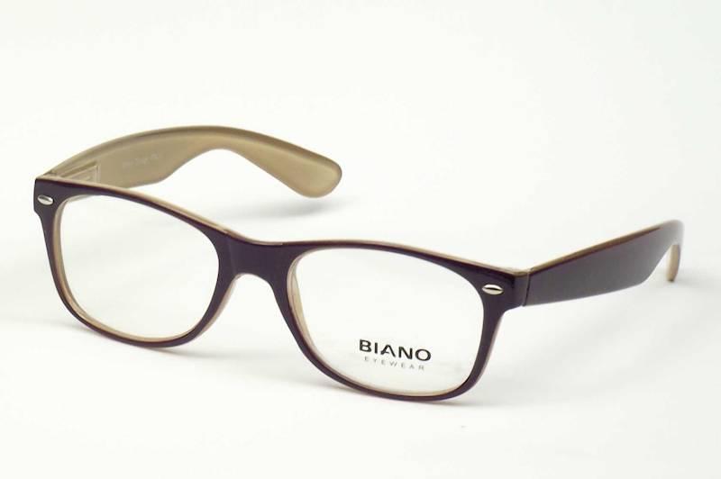 Oprawa okularowa BN1101 C03 Biano - fiolet/oliwka