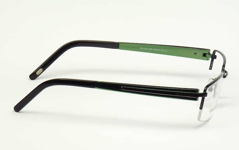 Oprawa okularowa QR1006 C05 Quara -czarny/zielony