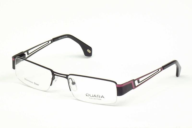 Oprawa okularowa QR1003 C05 Quara - czarny/fiolet