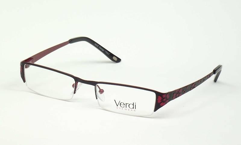 Oprawa okularowa VD1125 C04 Verdi - czarny/burgund