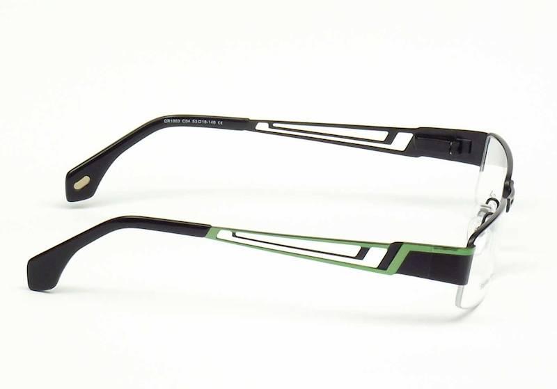 Oprawa okularowa QR1003 C04 Quara - czarny/zielony