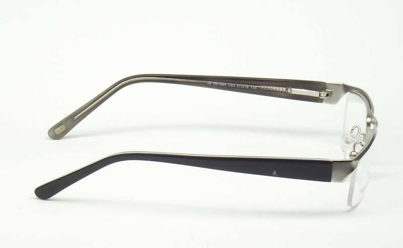 Oprawa okularowa VD1604 C03 Verdi - srebrny/szary