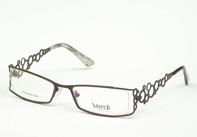 Oprawa okularowa VD1603 C02 Verdi - brązowy