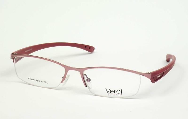 Oprawa okularowa VD1507 C03 Verdi - różowy/czerwon