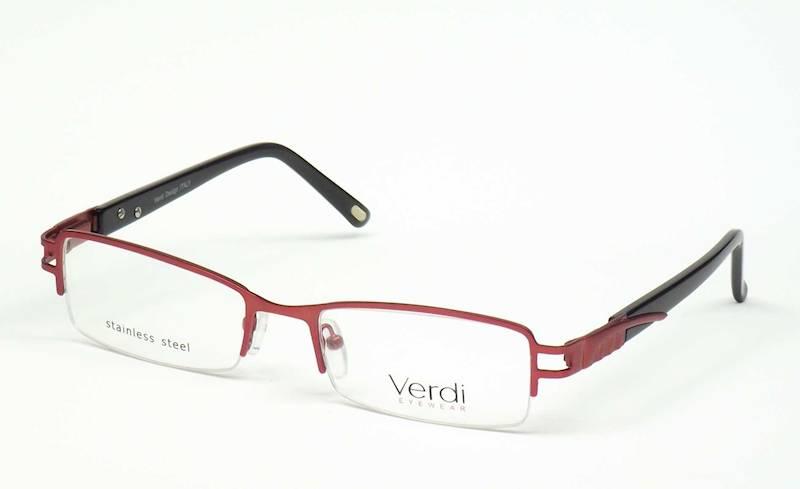 Oprawa okularowa VD1160 C03 Verdi - burgund/czarny