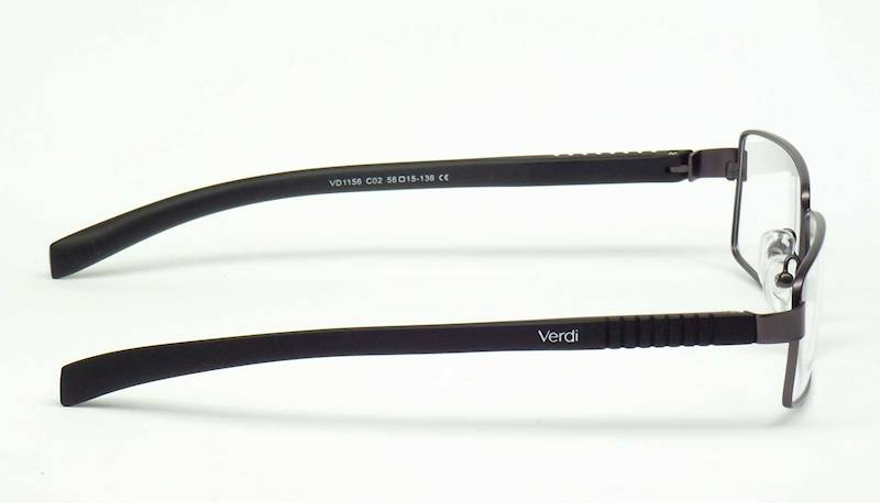 Oprawa okularowa VD1156 C02 Verdi - gun/czarny