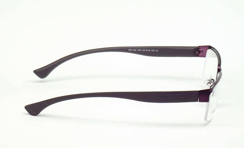Oprawa okularowa VD1154 C03 Verdi - śliwka