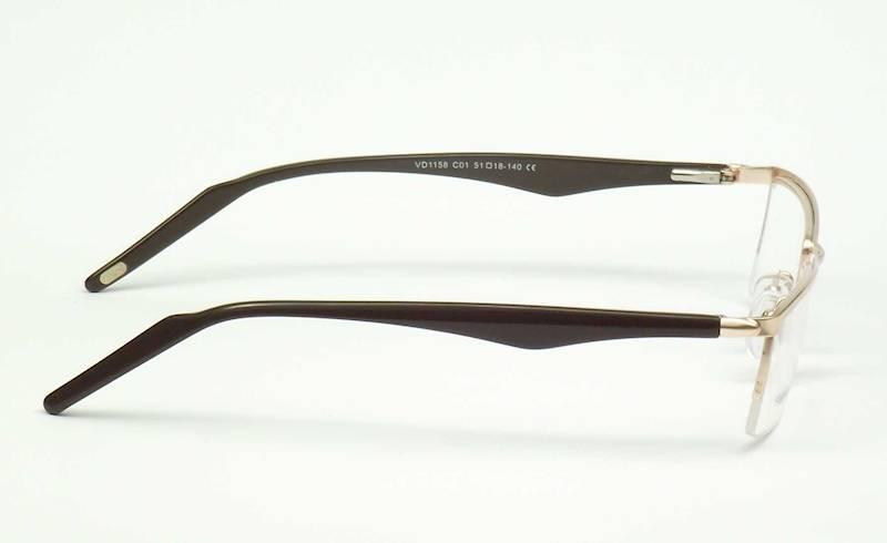 Oprawa okularowa VD1158 C01 Verdi - złoto/brąz