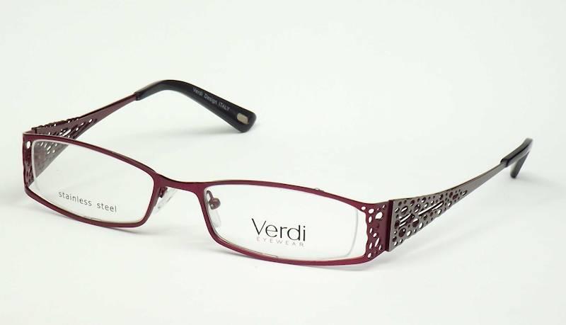 Oprawa okularowa VD1153 C03 Verdi - burgund/srebro