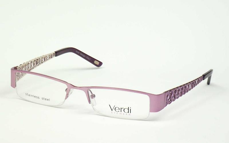 Oprawa okularowa VD1151 C02 Verdi - fiolet/srebro