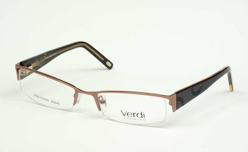 Oprawa okularowa VD1150 C01 Verdi - brąz/czarny