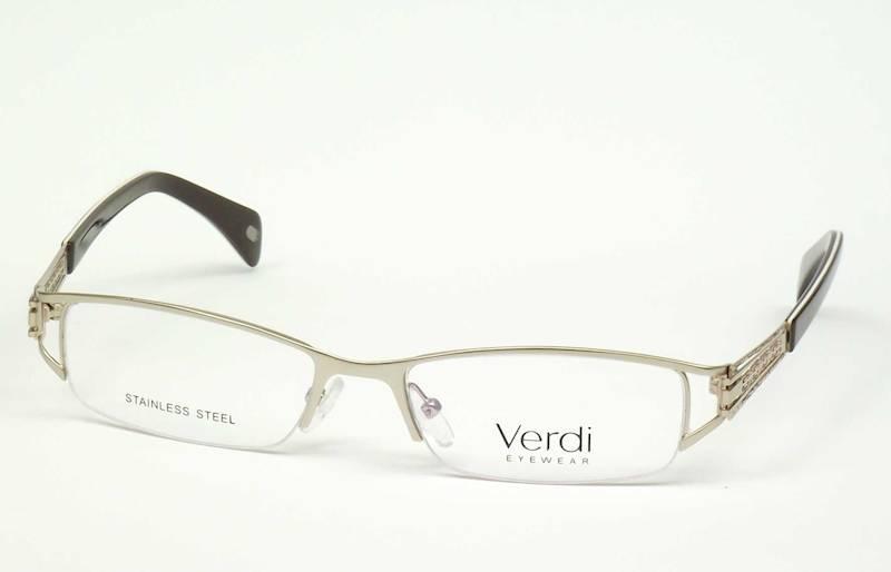 Oprawa okularowa VD1217 C04 Verdi - złoto/brąz