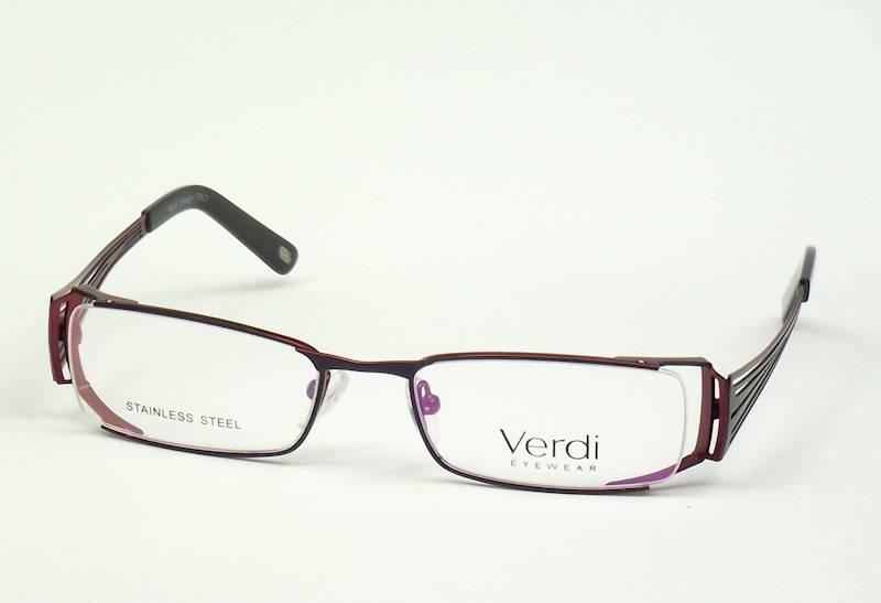 Oprawa okularowa VD1219 C01 Verdi - czarny/burgund