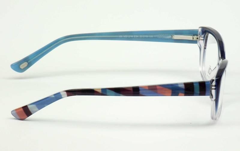 Oprawa okularowa VD1218 C04 Verdi - niebies+kolory