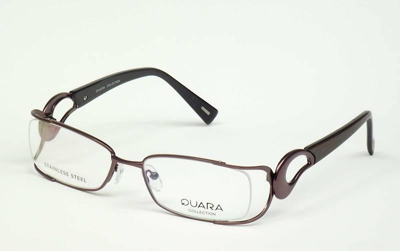 Oprawa okularowa QR1303 C01 Quara - brąz