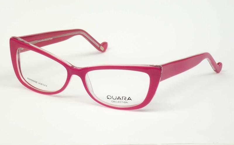 Oprawa okularowa QR1016 C03 Quara - różowy