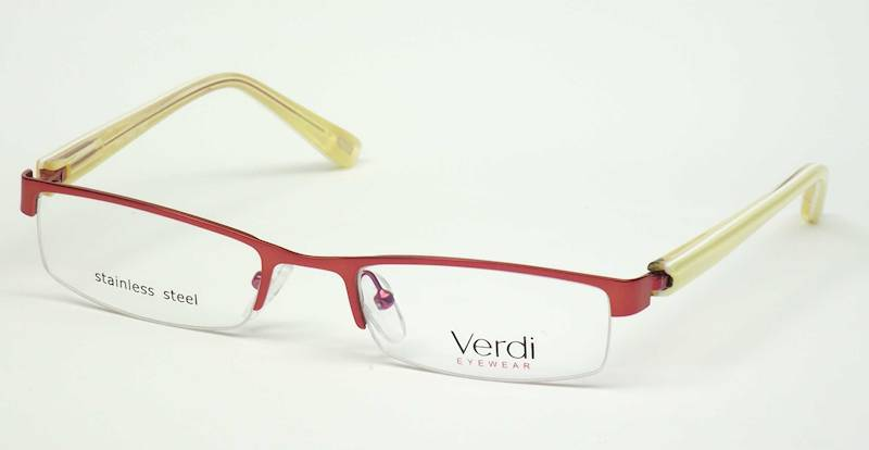 Oprawa okularowa VD1152 C02 Verdi - czerwony/żółty