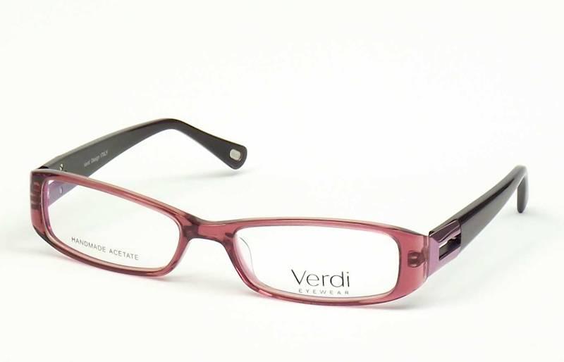 Oprawa okularowa VD1226 C02 Verdi - burgund/fiolet