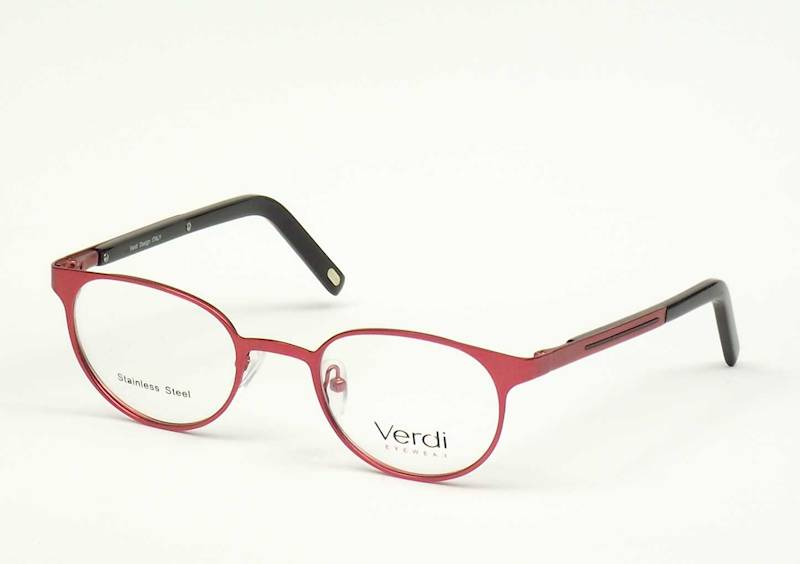 Oprawa okularowa VD1164 C02 Verdi - burgund/czarny