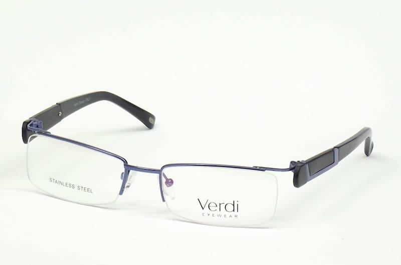 Oprawa okularowa VD1225 C01 Verdi - niebie/czarny