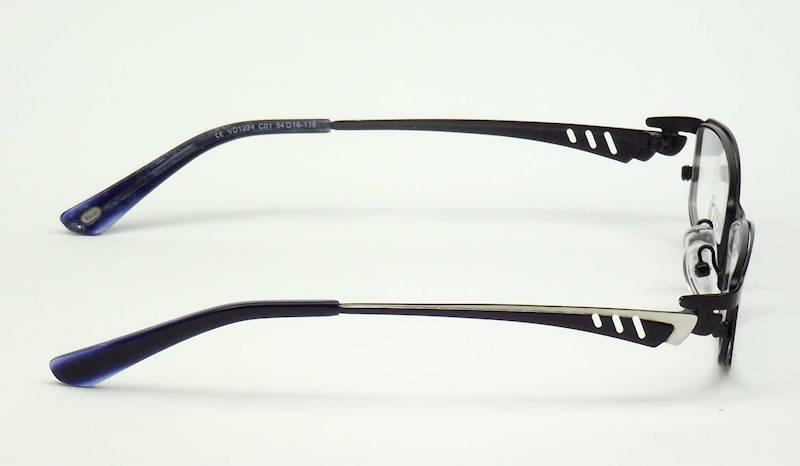 Oprawa okularowa VD1224 C01 Verdi - czarny/srebrny