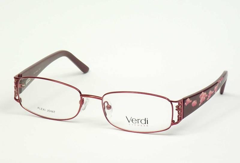 Oprawa okularowa VD1418 C01 Verdi - burgund