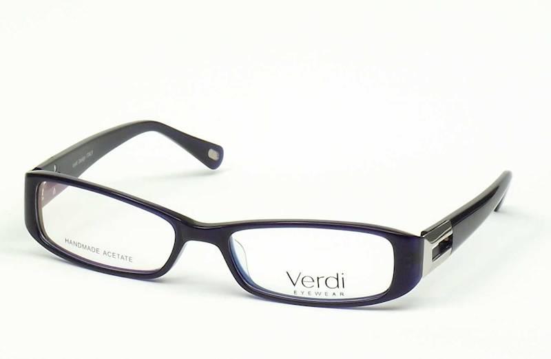 Oprawa okularowa VD1226 C01 Verdi - granat/srebro