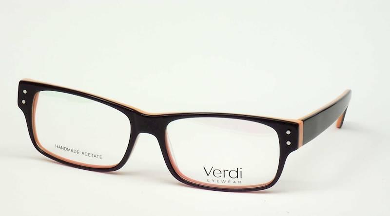 Oprawa okularowa VD1222 C03 Verdi - czarny/pomarań