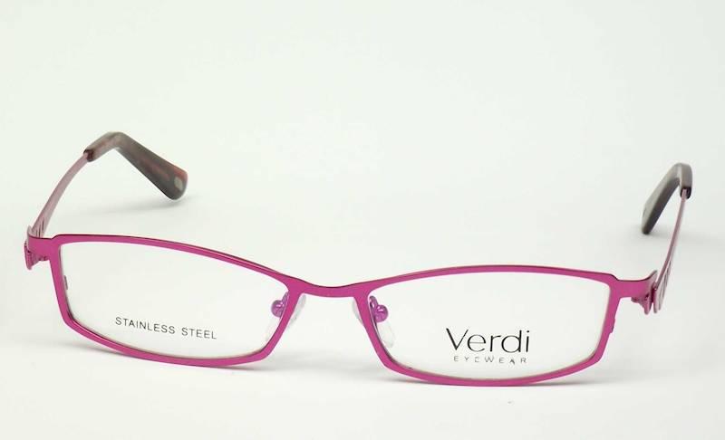 Oprawa okularowa VD1224 C02 Verdi - c.róż/srebrny