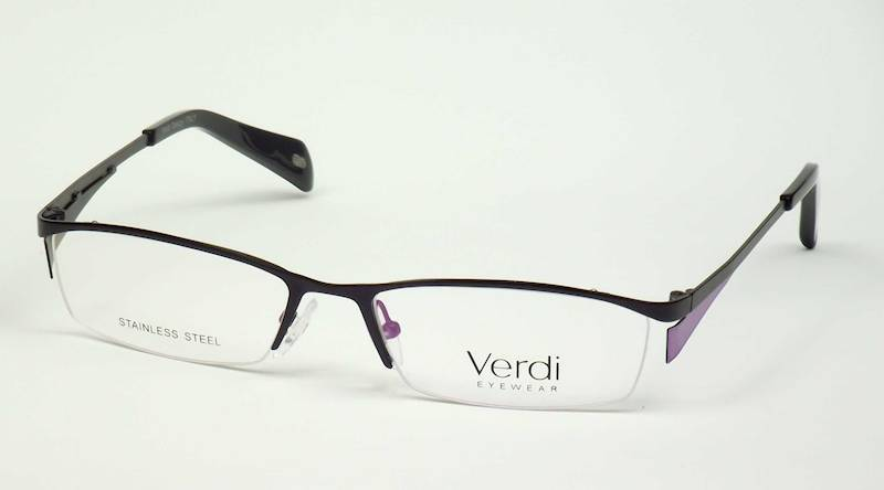Oprawa okularowa VD1221 C01 Verdi - czarny/fiolet