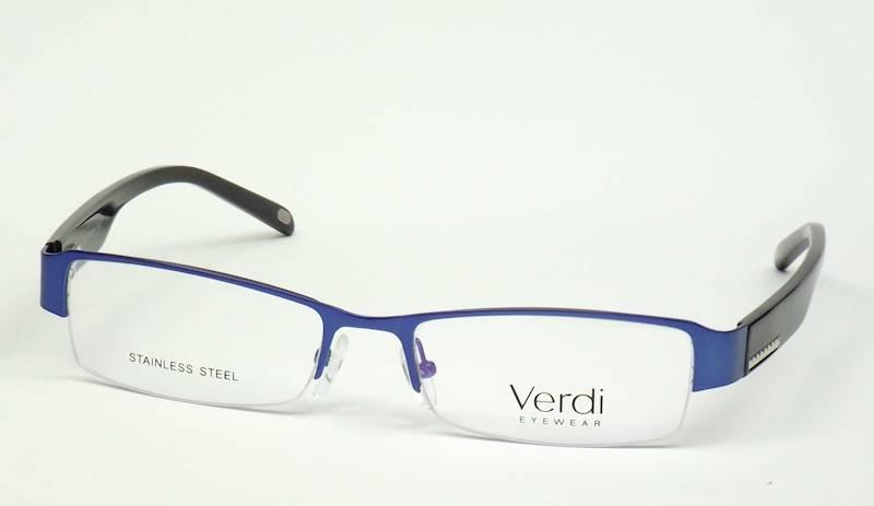 Oprawa okularowa VD1223 C04 Verdi - niebies/czarny