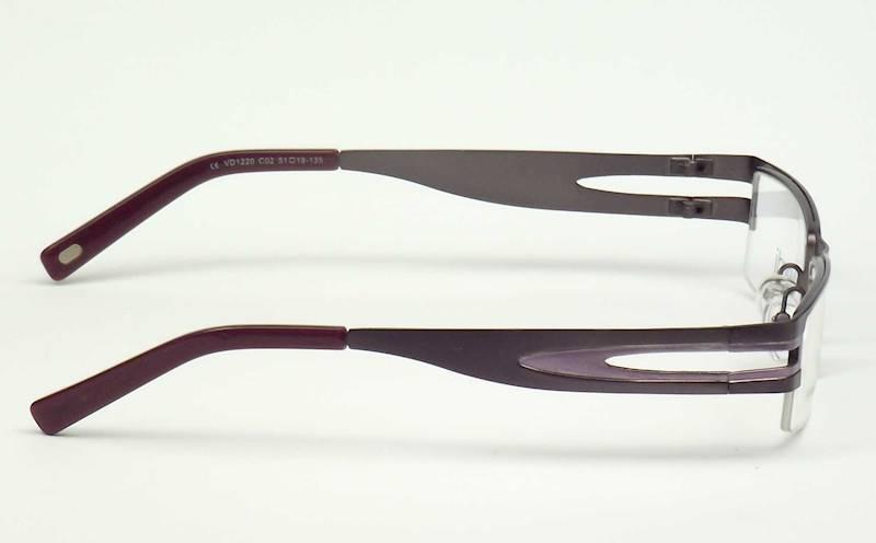 Oprawa okularowa VD1220 C02 Verdi - gun/fiolet