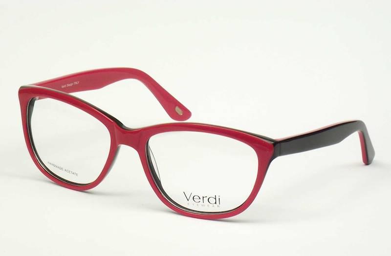 Oprawa okularowa VD1166 C03 Verdi - czerwono/czarn
