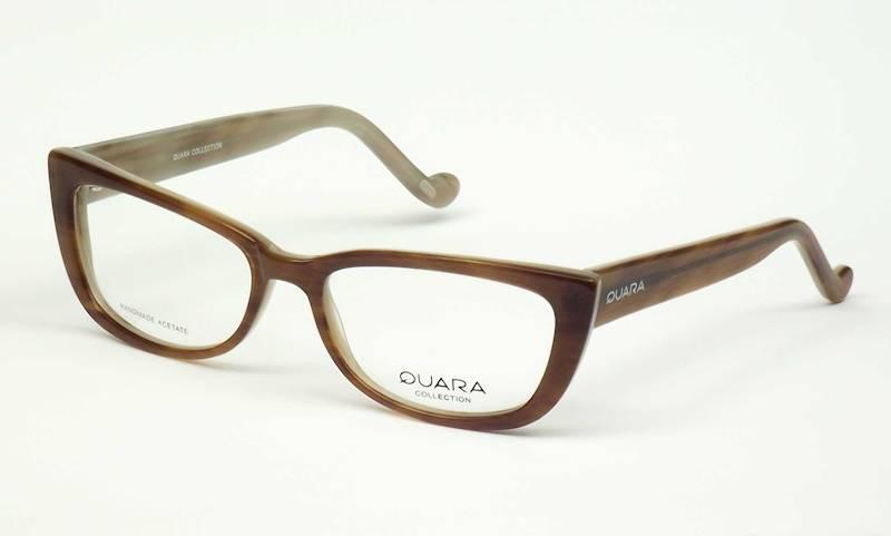Oprawa okularowa QR1025 C04 Quara - brąz