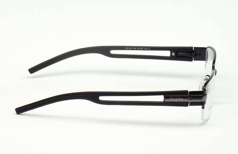 Oprawa okularowa QR1024 C01 Quara - czarny/gun