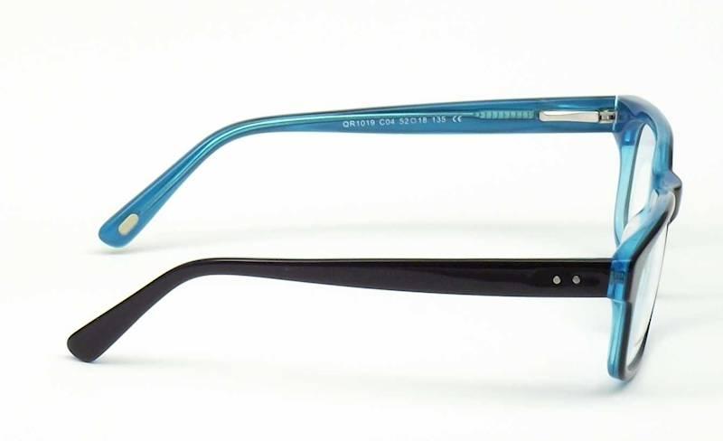 Oprawa okularowa QR1019 C01 Quara - czarny/turkus