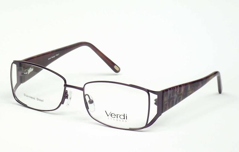 Oprawa okularowa VD1162 C02 Verdi - fiolet/burgund