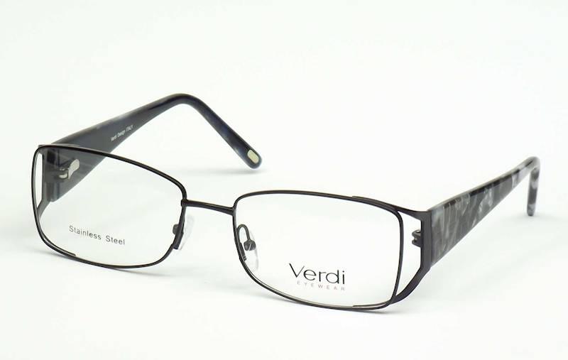 Oprawa okularowa VD1162 C01 Verdi - czarny/siwy/gr