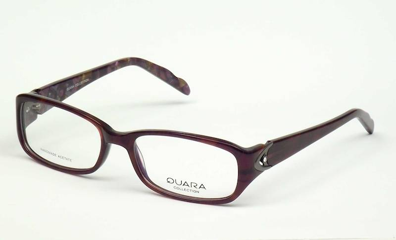 Oprawa okularowa QR1022 C02 Quara - burgund/fiolet