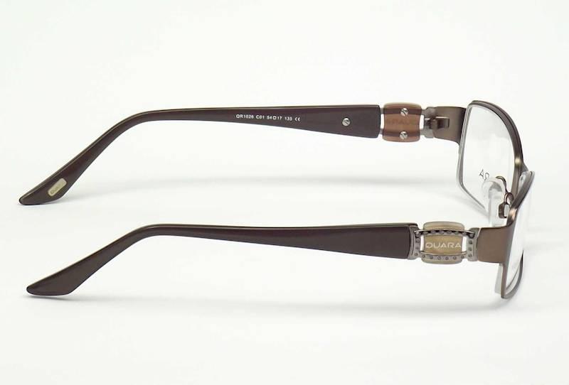 Oprawa okularowa QR1026 C01 Quara - brąz