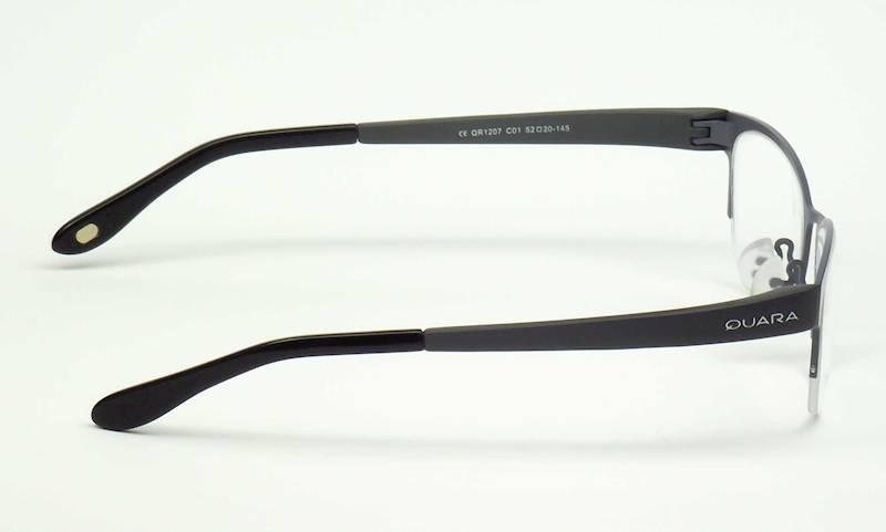 Oprawa okularowa QR1207 C01 Quara - gun/szary/czar