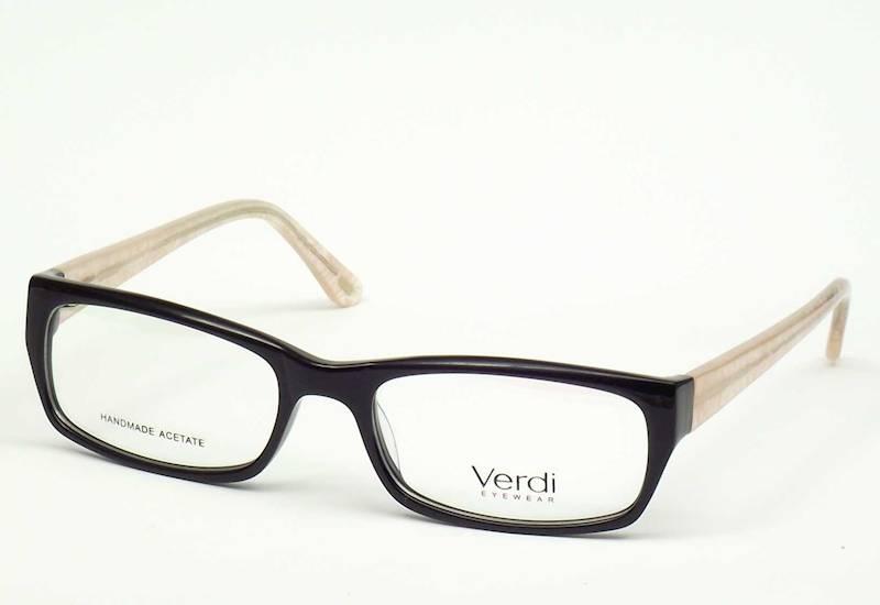 Oprawa okularowa VD1514 C02 Verdi - czarny/kremowy