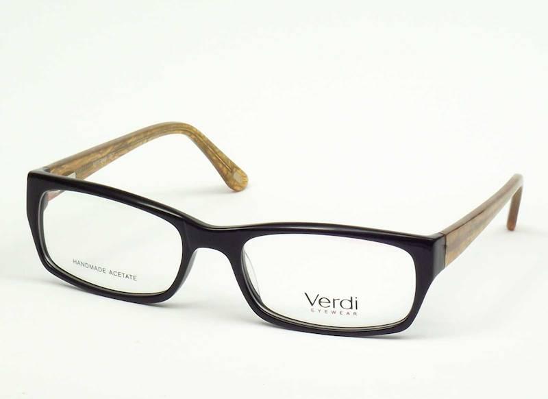 Oprawa okularowa VD1514 C01 Verdi - czarny/pomarań