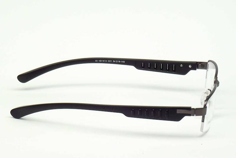 Oprawa okularowa VD1513 C01 Verdi - gun/czarny