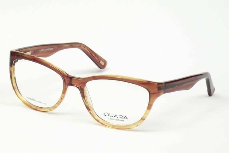 Oprawa okularowa QR1027 C02 Quara - bursztyn-trans